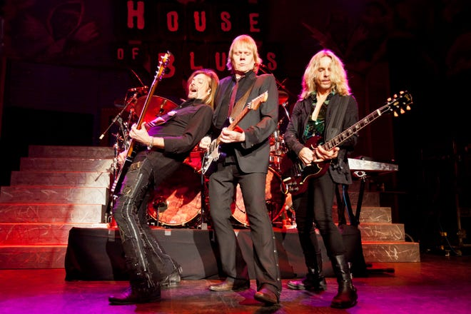 Bassist Ricky Phillips, guitarist/vocalist  James Young and guitarist/vocalist Tommy Shaw of Styx will play the Resch Center on Dec. 29.
