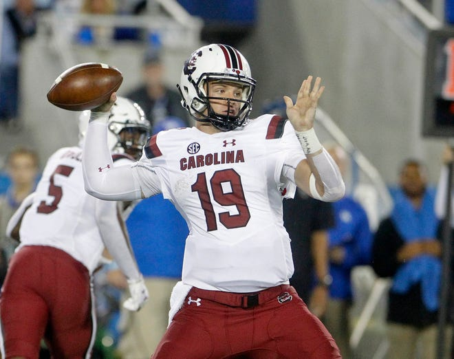 South Carolina got some good news about its quarterback situation with Jake Bentley expected to return as the Gamcocks' starter against No. 22 Texas A&M after missing last week with a left knee injury.