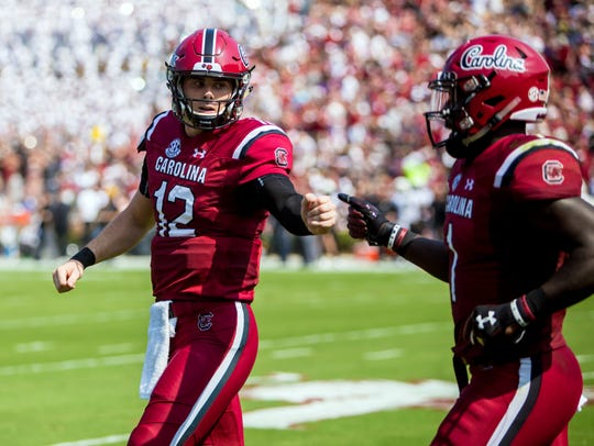 South Carolina backup QB Michael Scarnecchia led the team to a 37-35 victory over Missouri and demonstrated South Carolina has depth at the positon.