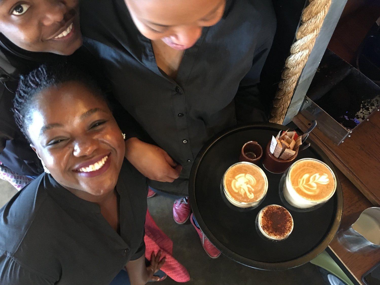 Photos from Stephanie Cutts' African trip with Uuzilo.