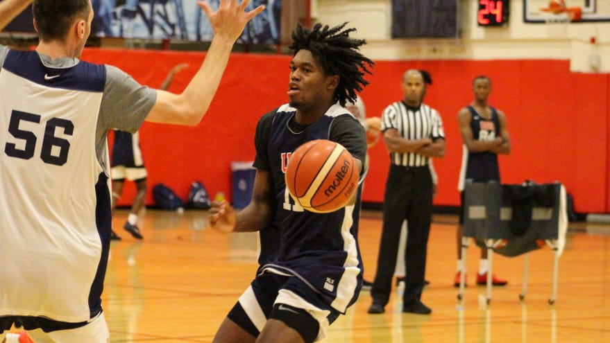 Fort Wayne's Keion Brooks competed at the Team USA camp at Colorado Springs this week.