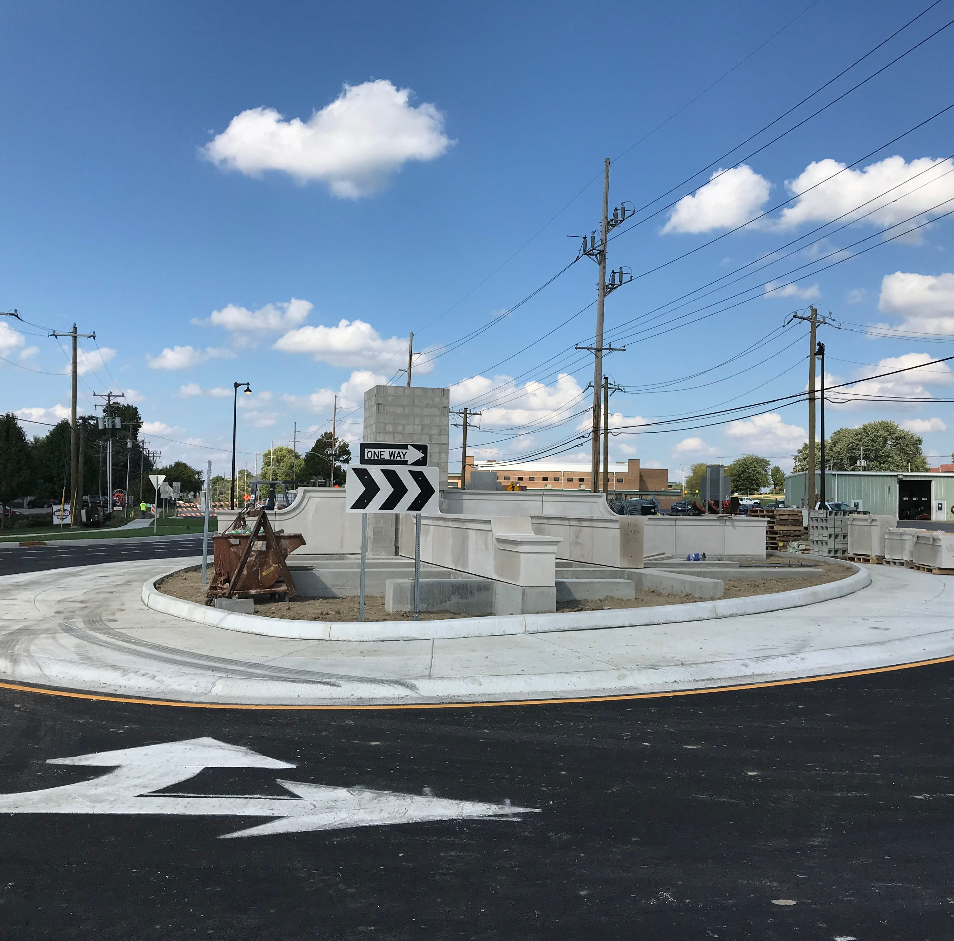 Greenwood's new roundabout one-ups Carmel by adding a 'jug handle'