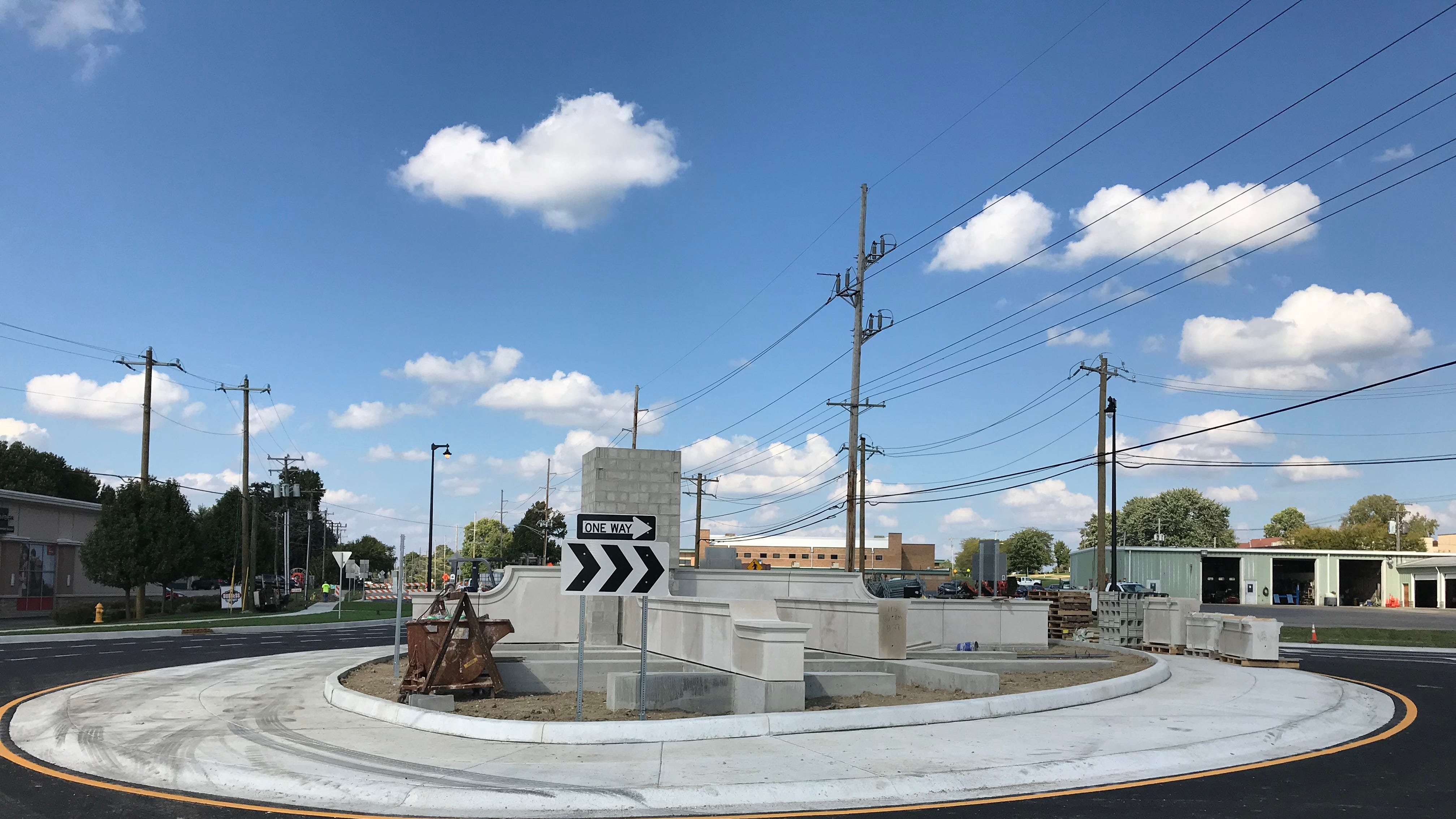 Greenwood's $2.9 million roundabout is scheduled...