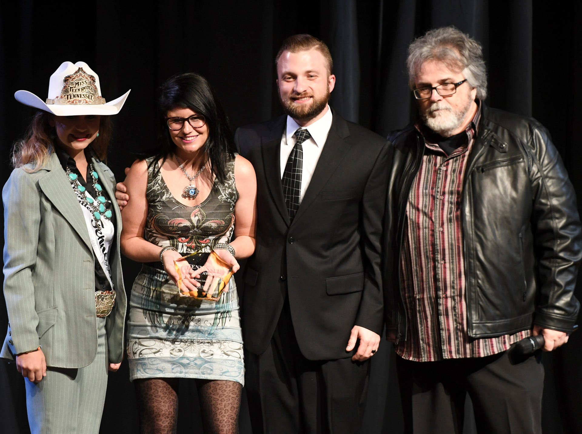 Roses Unread received the award for Metal Band of the Year at the 2nd Annual Tennessee Music Awards, Monday, October 8, at University of Memphis Lambuth.