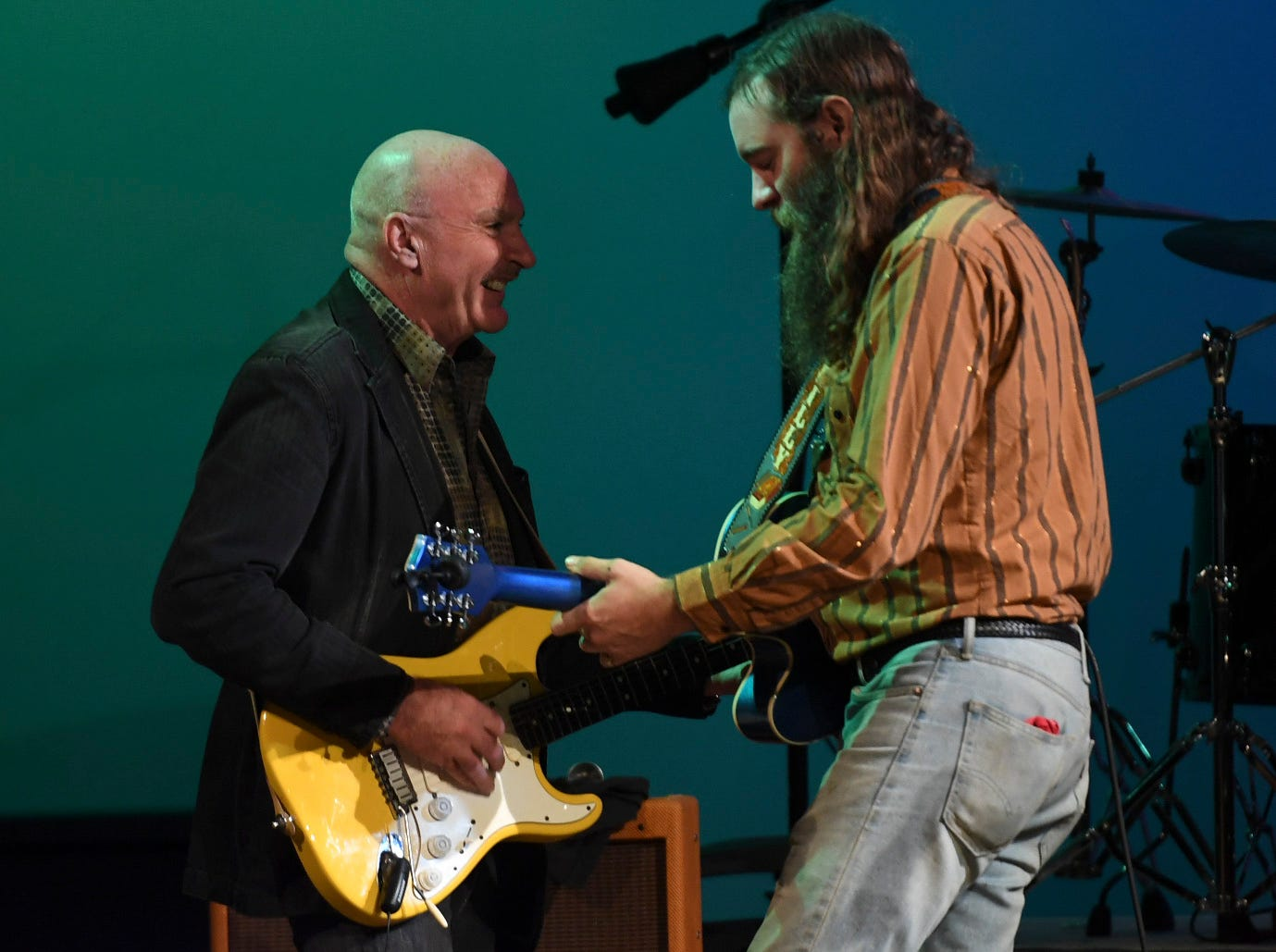 Wes Henley and Cotton Clifton perform at the 2nd Annual Tennessee Music Awards, Monday, October 8, at University of Memphis Lambuth.