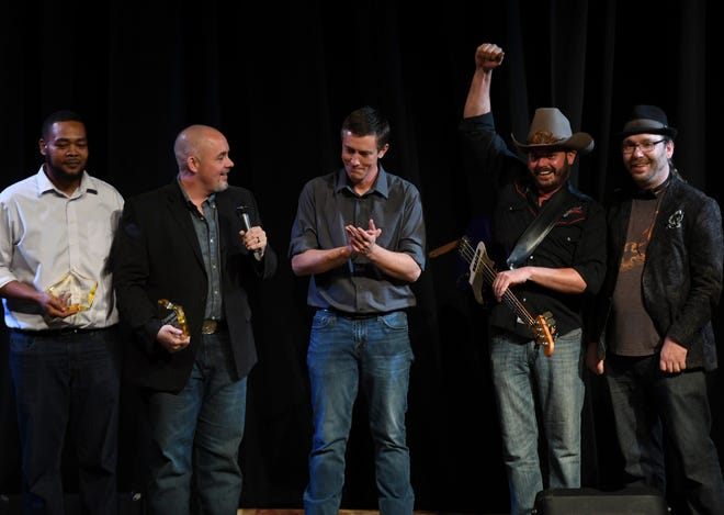 Rev. Jessie and the Holy Smokes received the award for Country Artist of the Year at the 2nd Annual Tennessee Music Awards last year. This year's awards show is Monday night at 6:30 p.m. at the University of Memphis at Lambuth.