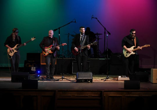 Jupiter Stone performs during the 2nd Annual Tennessee Music Awards, Monday, October 8, at University of Memphis Lambuth.