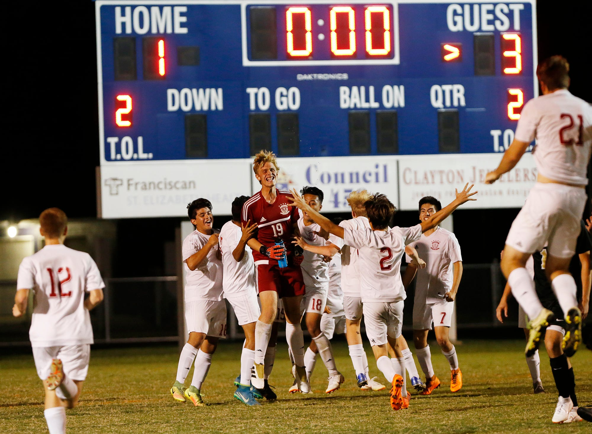 Laf Faith Defeats Delphi To Win Boys Soccer Sectional