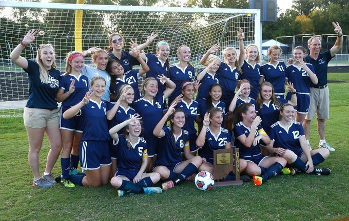 efda178e76ab Central Catholic Defeats Faith Christian 2-0 to Win Girls Soccer Ssectional