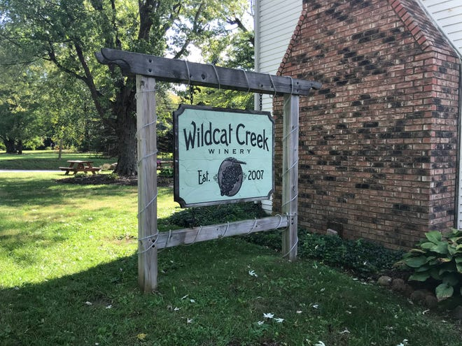 Wildcat Creek Winery off of East 200 North in Lafayette.