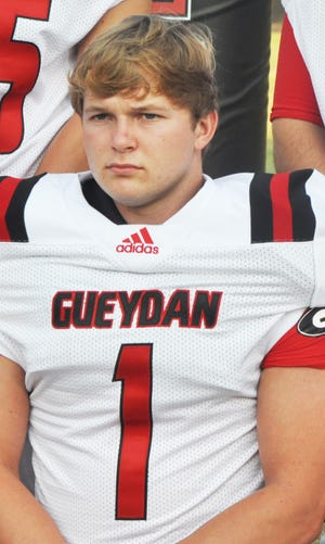Gueydan's Blaire Broussard makes successful transition to quarterback.