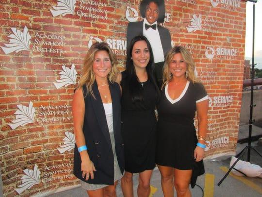Erin Luquette, Lorraine Luquette Vannoy and Rachel Luquette