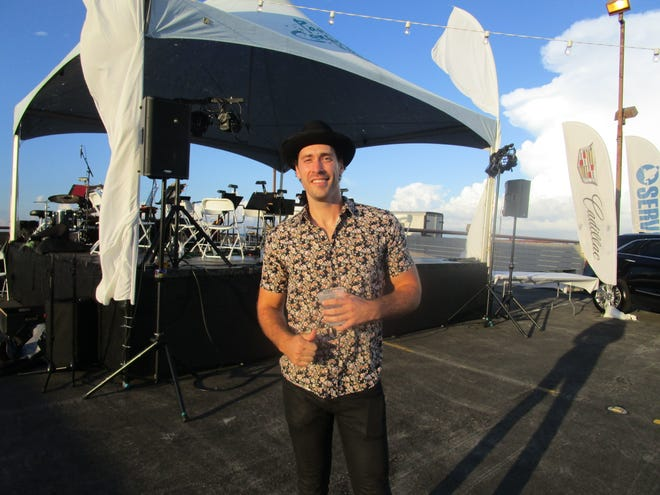 Ray Boudreaux preformed at Symphony in the Sky on Oct. 3