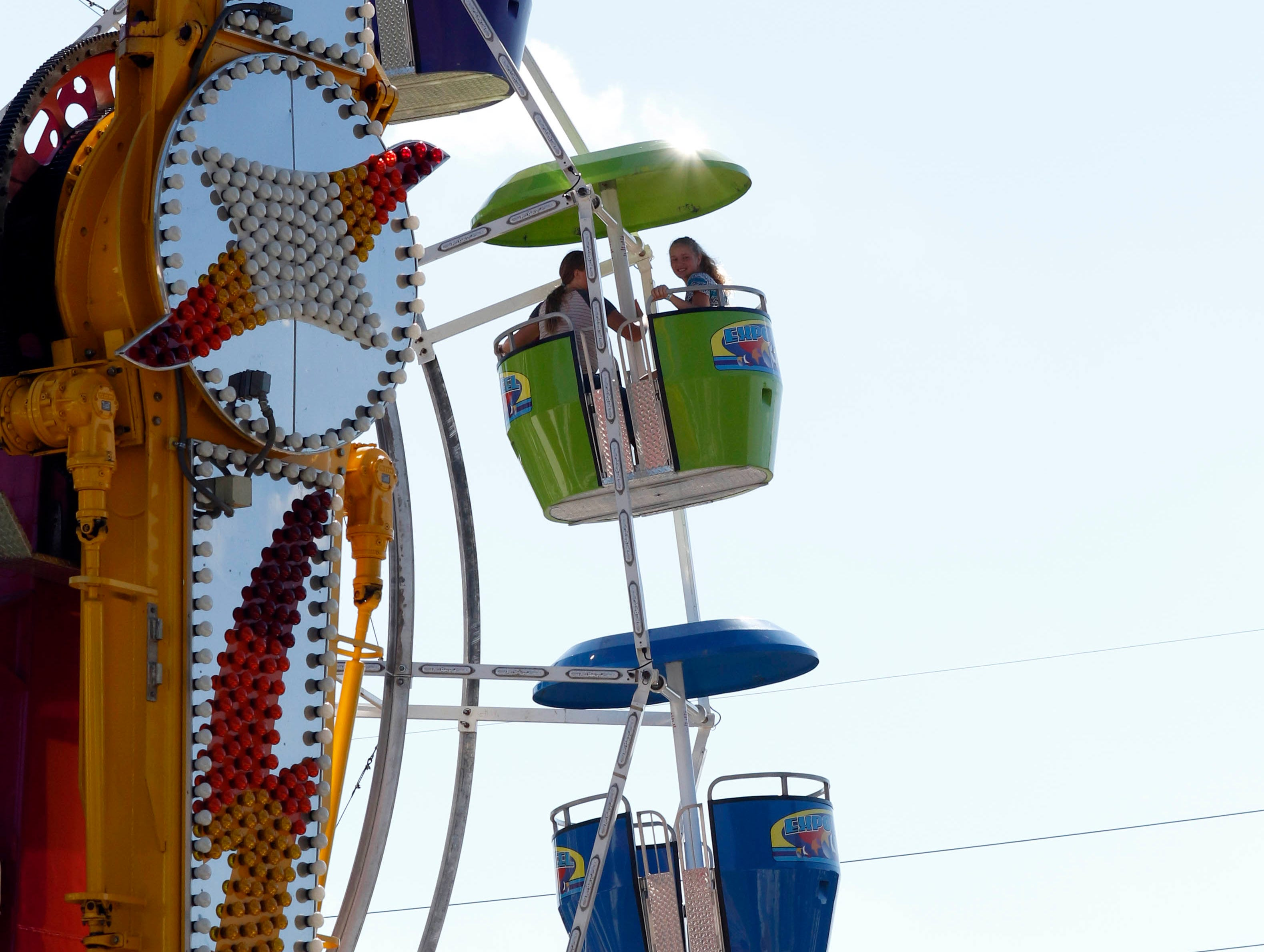 The Fairfield County Fair continued Tuesday, Oct. 8, 2018, in Lancaster.