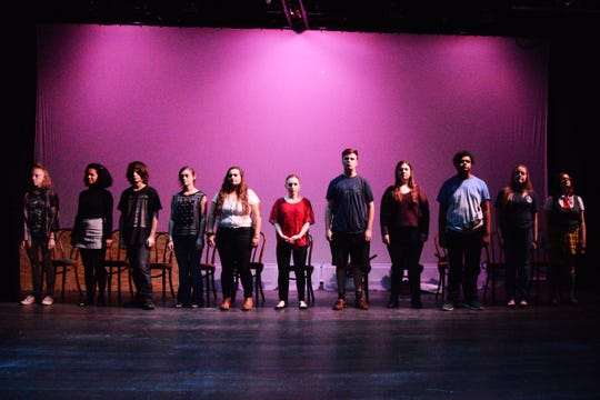 Young actors from Walden Theatre Conservatory in Louisville make up the cast of The Laramie Project, which runs Oct. 11 - Oct. 20 at Commonwealth Theatre Center in Louisville.