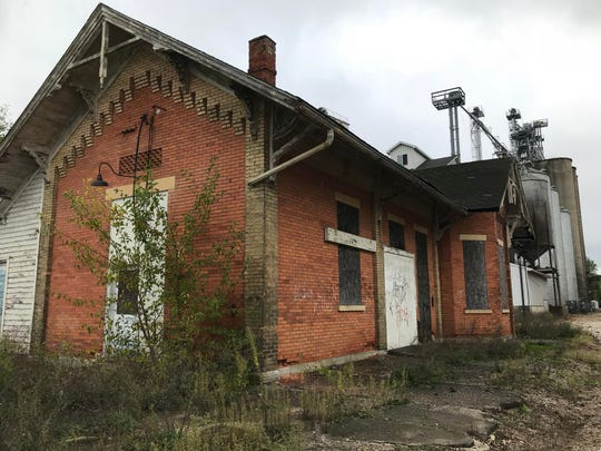 Grand Trunk Station, just off North Cochran Avenue, is more than a century old and crumbling. Now the Eaton County Square Association is looking into whether they can save the building.