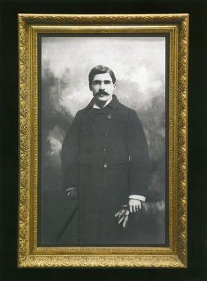 Portrait of Wyatt Earp