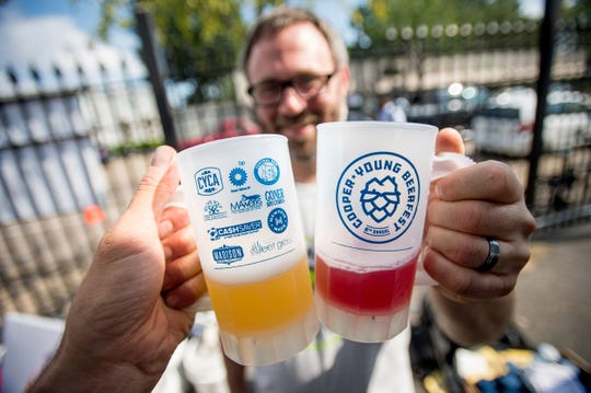 Each guest to Cooper-Young Beerfest receives a complimentary mug and can enjoy unlimited tastings.