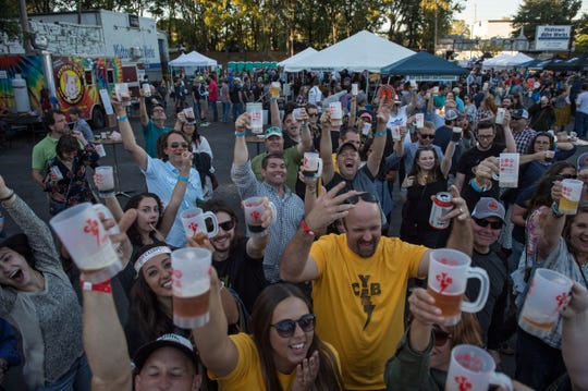 Cooper-Young Beerfest is an all-volunteer-run celebration organized by a group of neighbors who love their neighborhood and beer.  Since its beginning nine years ago, it has grown from 350 guests to close to about 1,000 guests.
