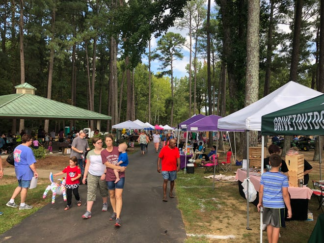 Olive Branch marked the 40th year of its Octoberfest Arts and Crafts Festival on Oct. 6. This year's event had about 55 vendors.