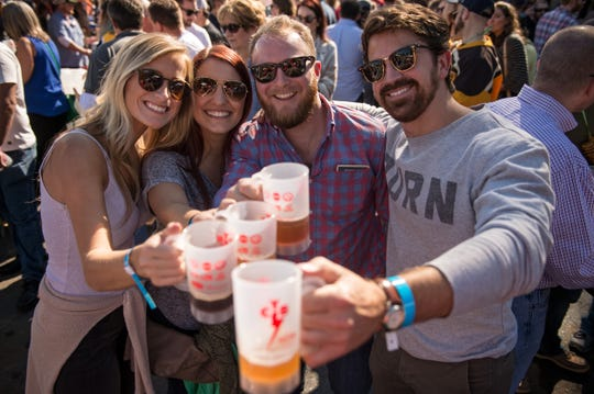 Guests to the ninth annual Cooper-Young Beerfest on Oct. 20 will  have more than 100 different crafts beers from which to taste.