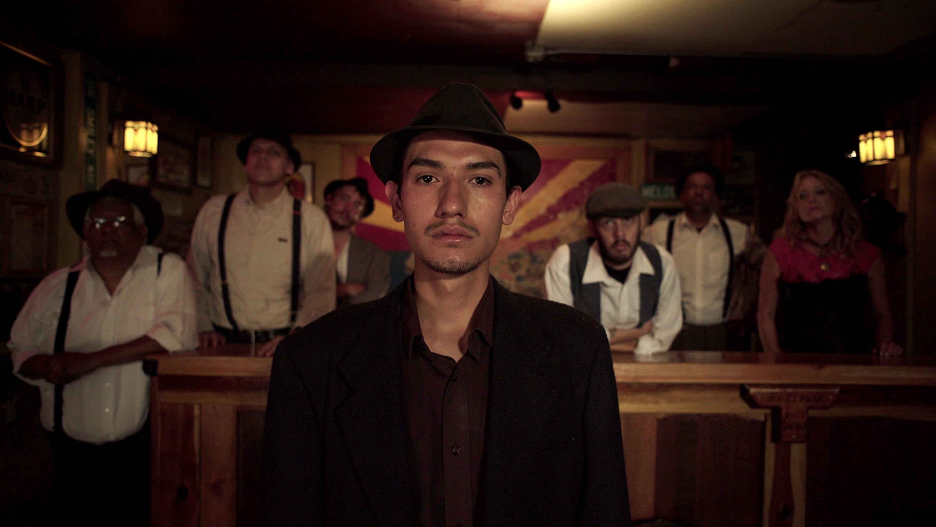 """Fernando Serrano portrays a miner on strike along with other Bisbee, Ariz., residents in the documentary """"Bisbee '17,"""" a re-creation of the event when 1,200 immigrant miners were deported from their Mexico border town 100 years ago."""