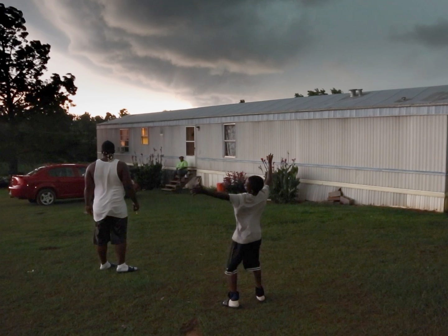 "A storm is brewing in the documentary ""Hale County This Morning, This Evening."""