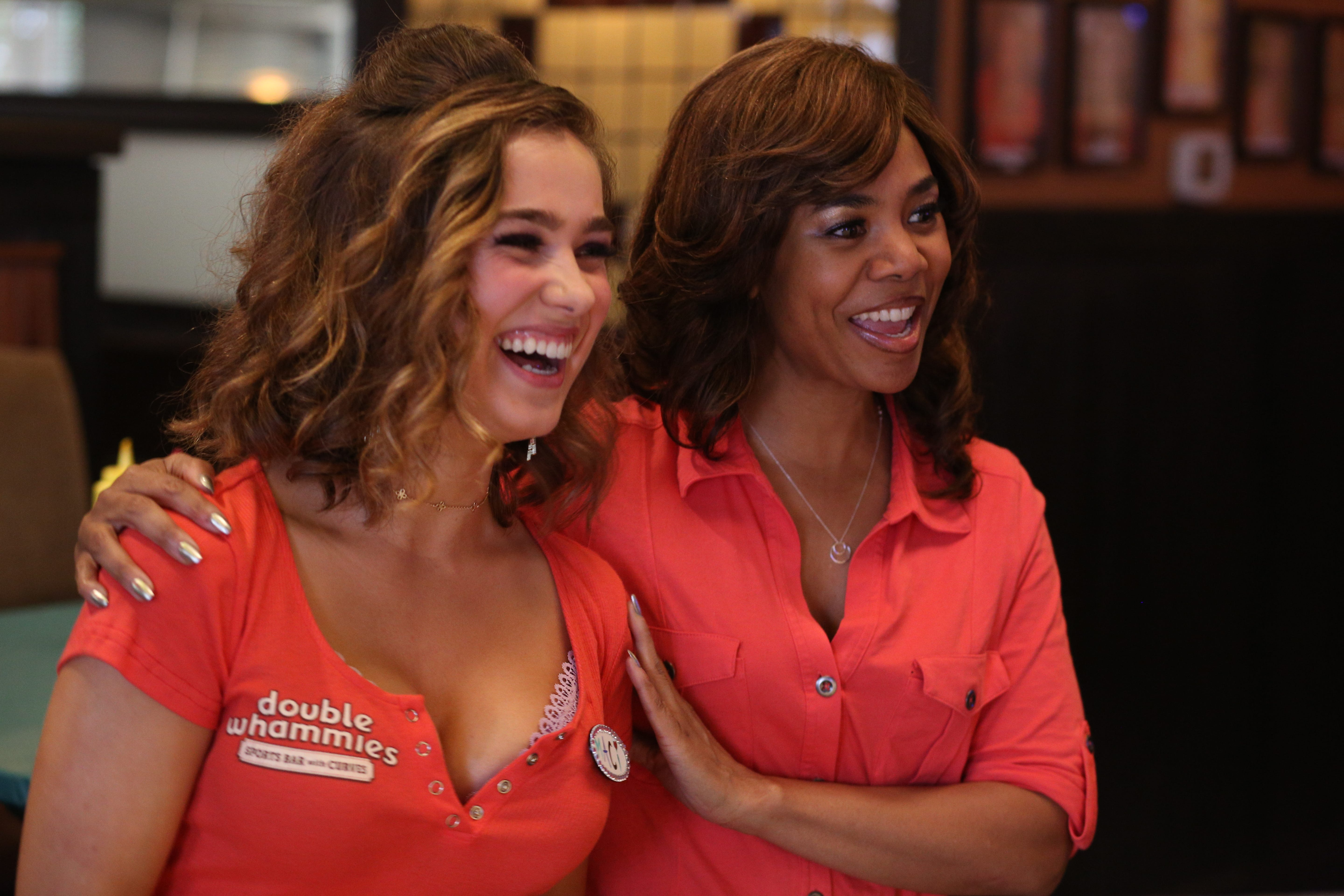 """Haley Lu Richardson (left) and Regina Hall star in """"Support the Girls."""""""