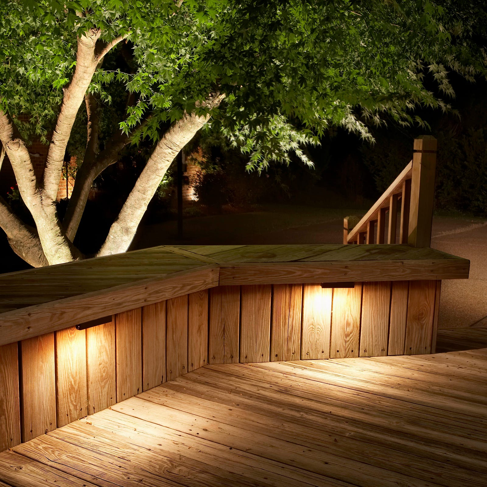 Awash in light: Make your property stunningly visible even in the dark