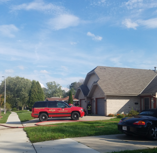 All is peaceful, now, at the Howard Avenue home of Greenfield Alderwoman Linda Lubotsky. But only a short time before on Oct. 8, the street was clogged with emergency vehicles from Greenfield, West Allis and Milwaukee, called for a basement fire in the home.