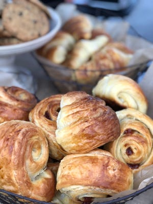 Baking croissants, broiche and other pastries is Jennifer Betances' passion.