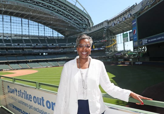 Cecelia Gore, executive director of the Brewers Community Foundation.