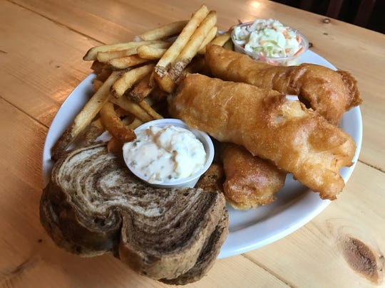 The Friday Fish Fry at Skippy's includes a number of options including beer-battered cod.