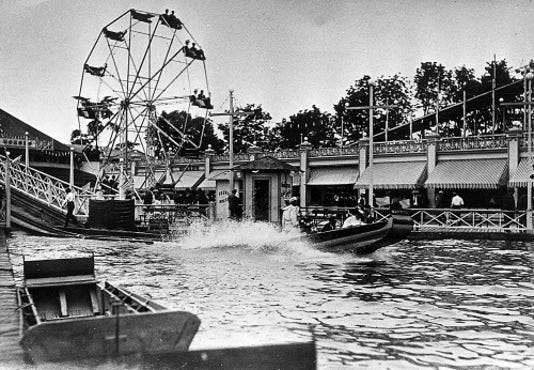 Shorewood Wonderland Amusement Park Circa 1900 History Amusement