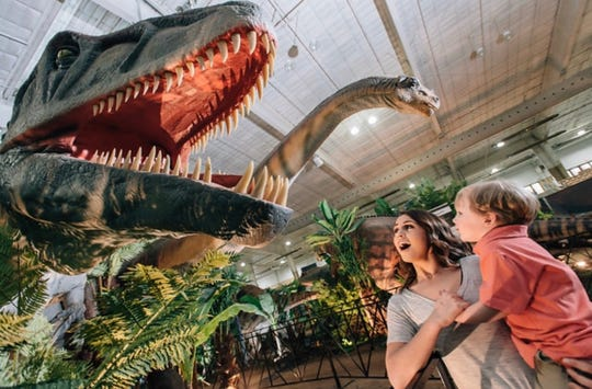 Jurassic Quest, a dinosaur event with 80 life-size animatronic dinos, will be at State Fair Park Oct. 19-21.