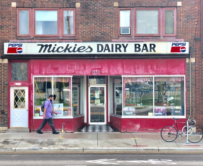 Mickies Dairy Bar in Madison, near the UW campus, has been serving comfort food since 1946.