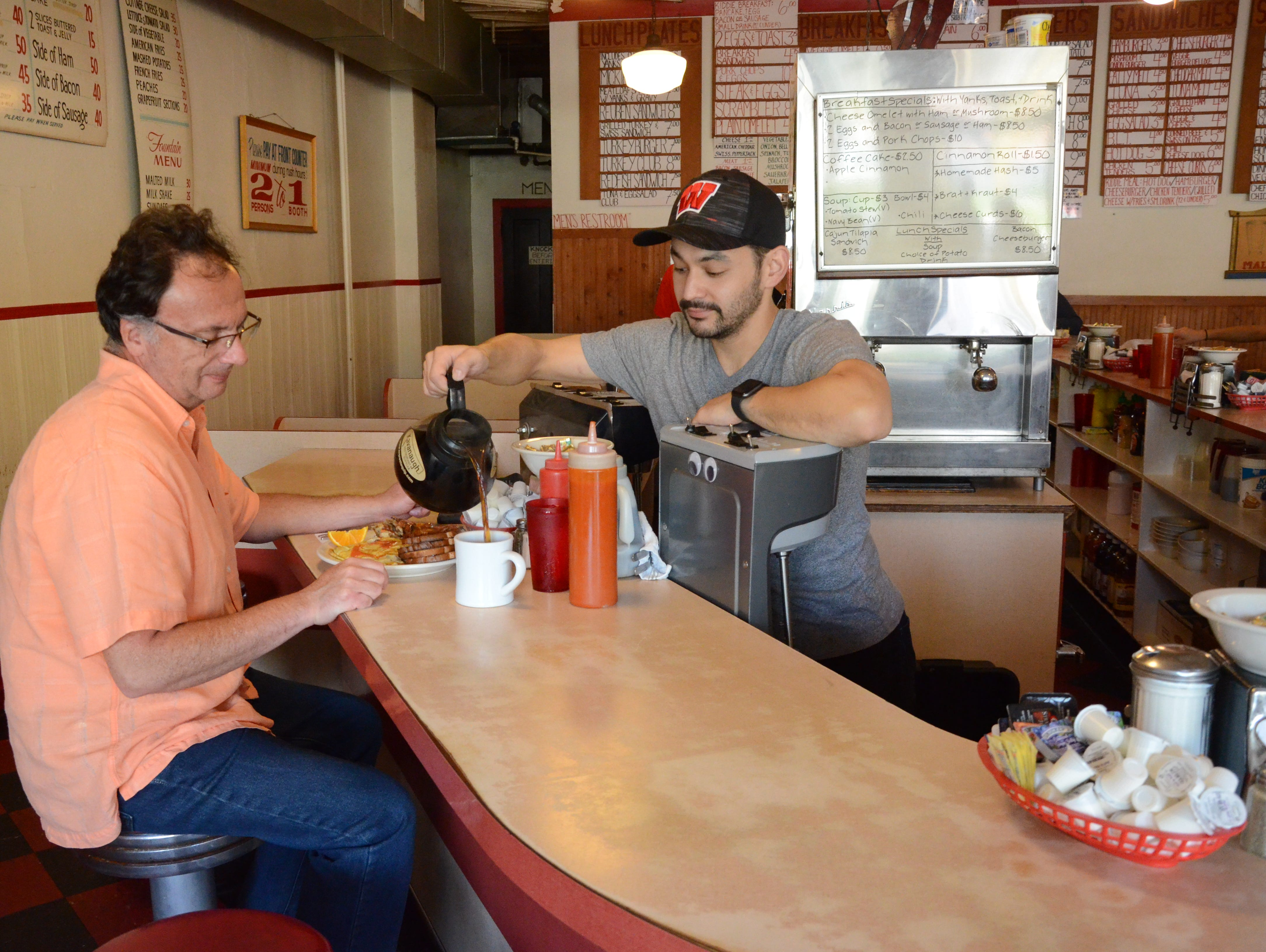 Mickies Dairy Bar in Madison has been serving comfort food to students and alums since 1946.