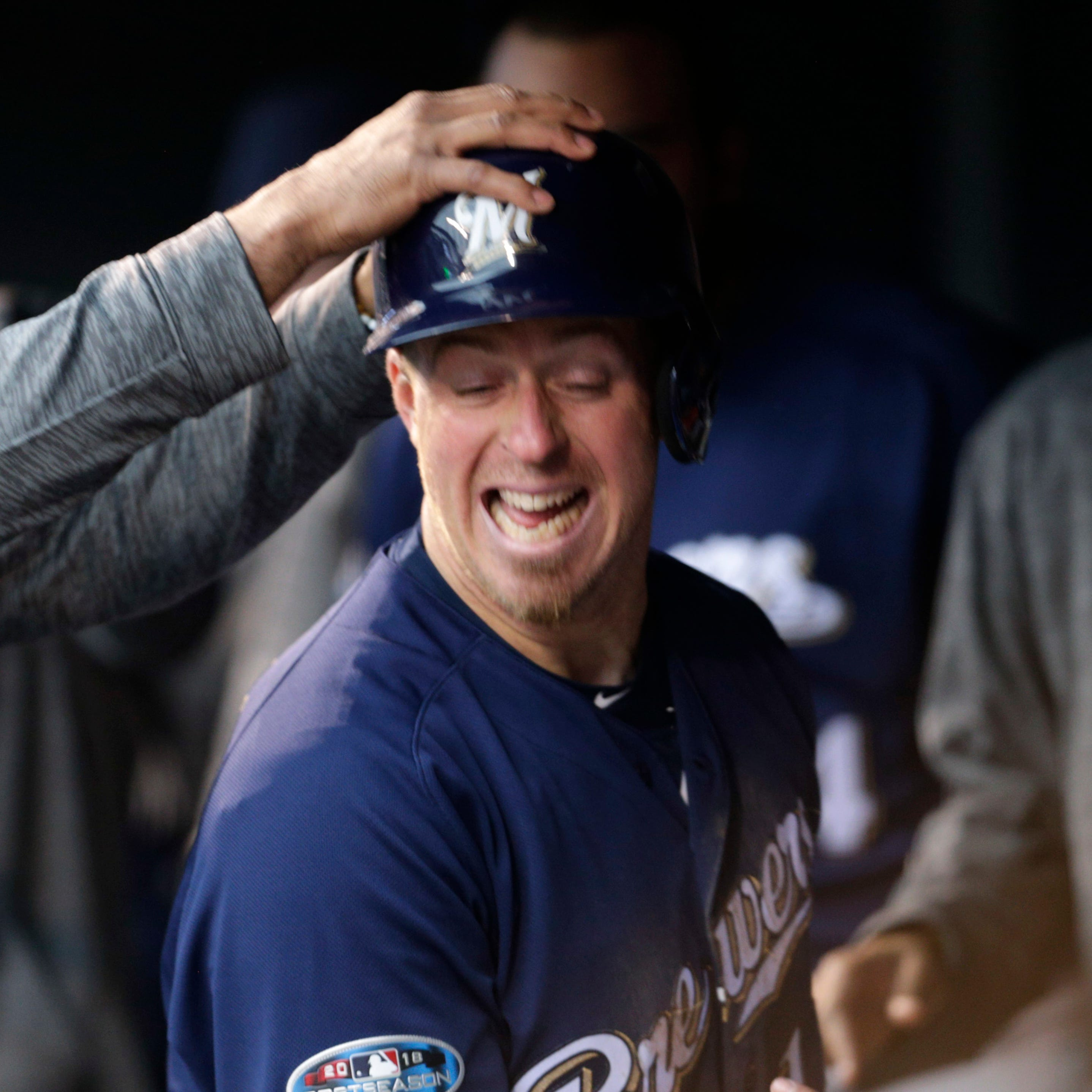 It's been a dream run for the ages for Brewers' Erik Kratz