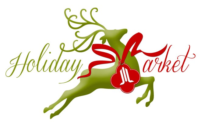 Holiday Market will be held Thursday-Saturday, with a special Prancer's Preview Party on Wednesday.