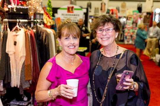 Friday is Girls' Night Out at the Junior League of Montgomery's Holiday Market.