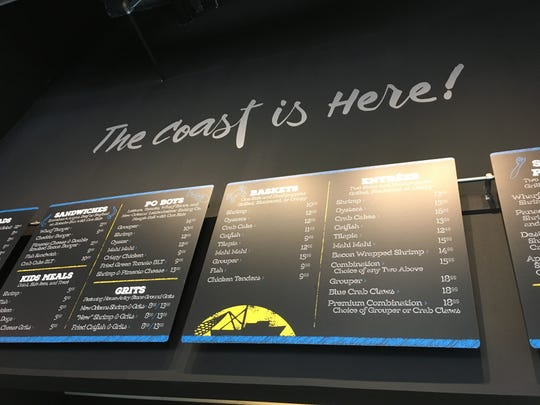 Wharf Casual Seafood features Gulf food with a Southern flair.