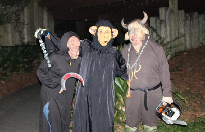 ZooBoo will be held October 12-14, 19-21 and 26-31 from 6:00-9:00 nightly at the Montgomery Zoo.