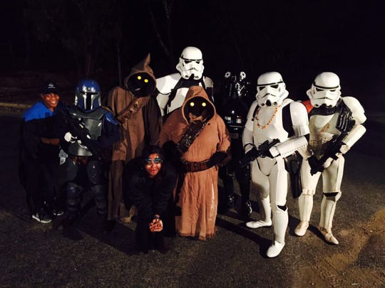 The 501st Legion of Vader's Fist from Star Wars will be at ZooBoo on Saturday.