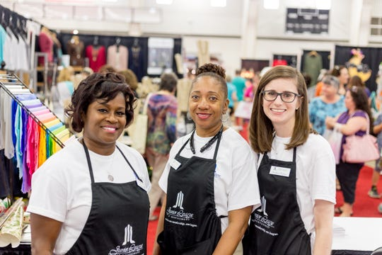 The theme for this year's Holiday Market from Junior League of Montgomery is #JLMGivesBack.