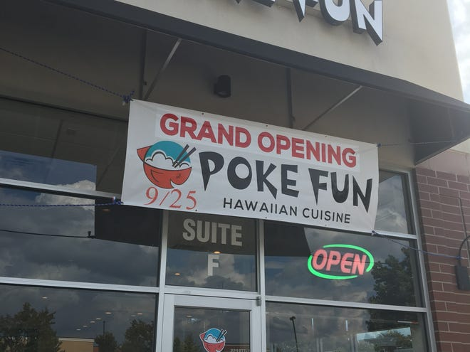 Poke Fun, serving Hawaiian cuisine, is at 577 N. Thompson Lane in Murfreesboro.
