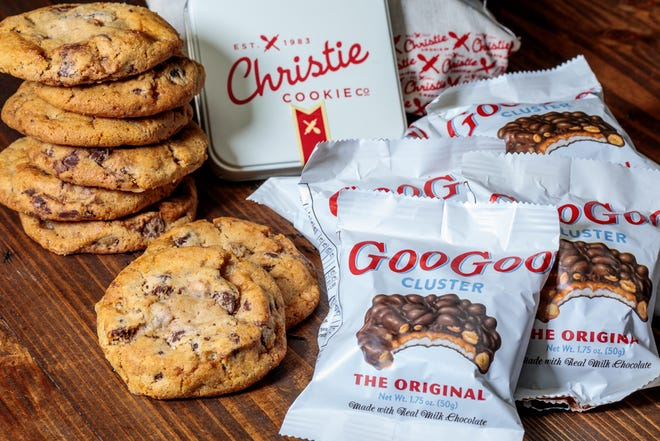 Nashville dessert giants Christie Cookie and Goo Goo Cluster are combining for a three-week promotion where their products will be combined.