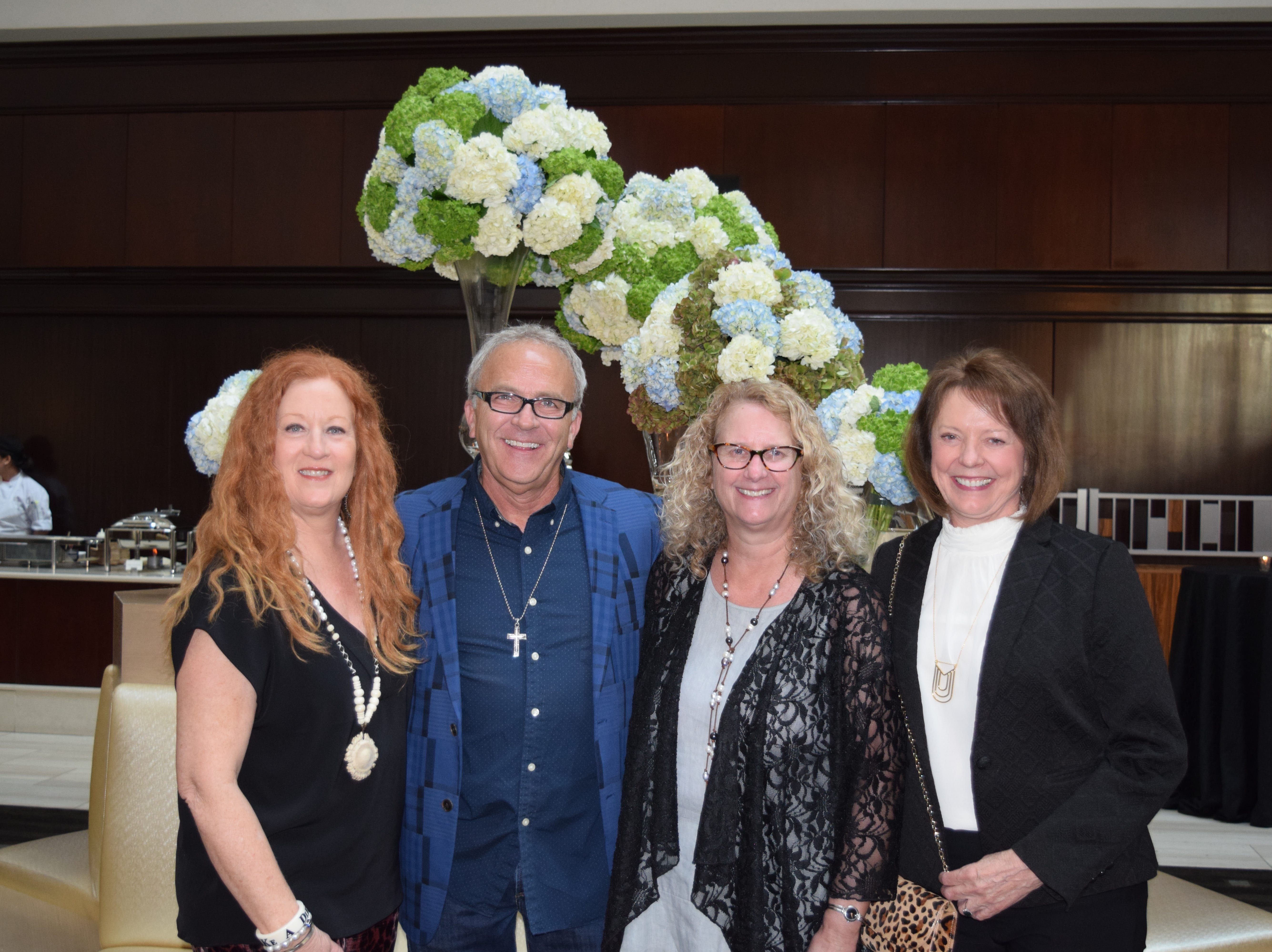 Cindy and Joe Caudle, Debbie Carter and Martha Farabee