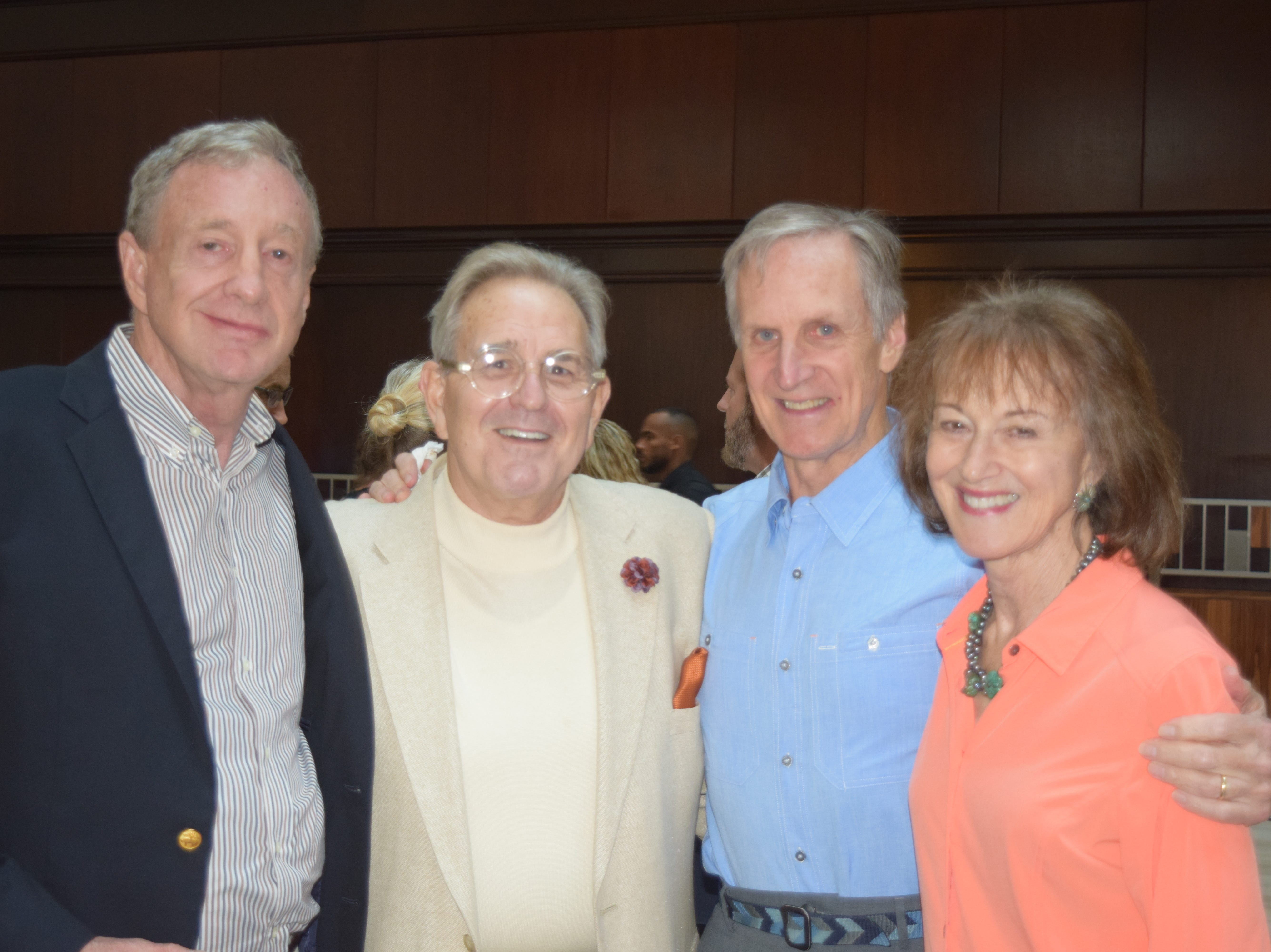 Vaden Lackey, Ted Clayton and Tony and Molly Fort