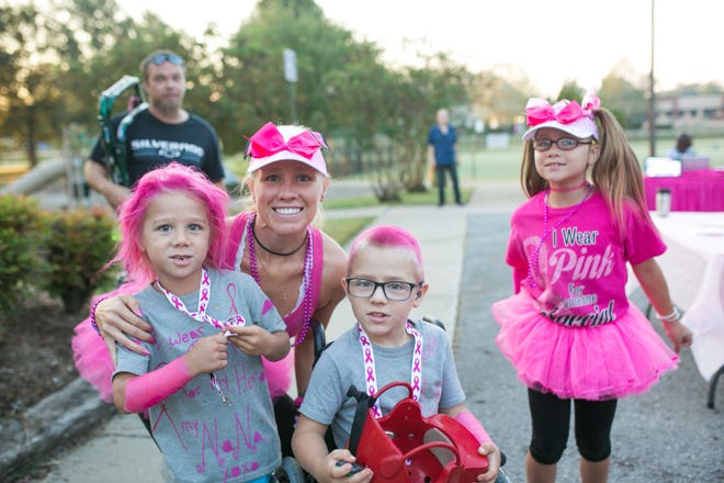 More than 300 participants registered for Pink Out For Hope's 2018 Booby Bolt 5K.