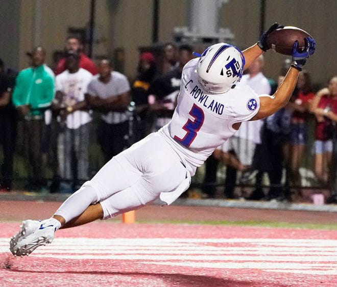 Tennessee State junior receiver Chris Rowland is the nation's leading receiver averaging 138.3 yards per game.